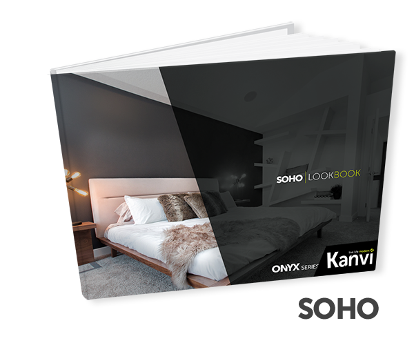 Kanvi Homes SOHO Look book and floor plan