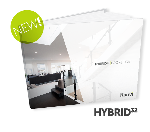 Kanvi Homes Hybrid 32 Look book and floor plan