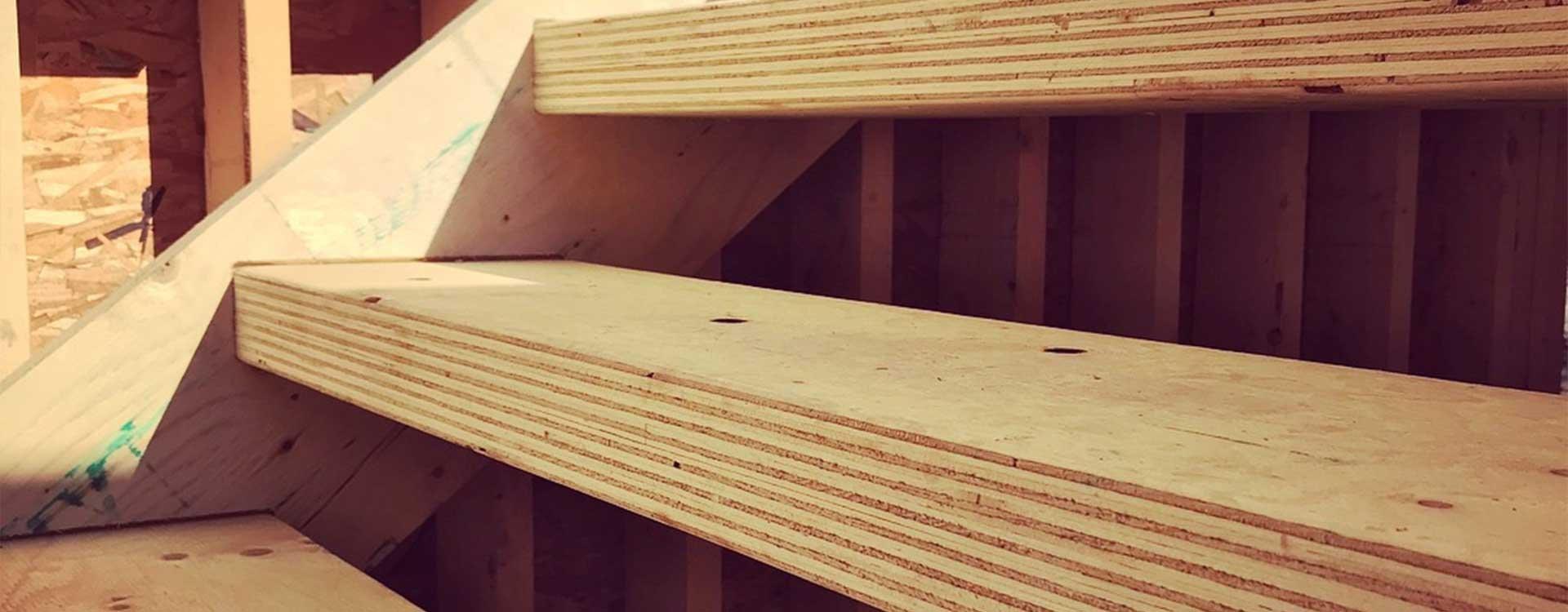 edmonton-home-builder-Kanvi-open-riserd-stair-cosntrucion