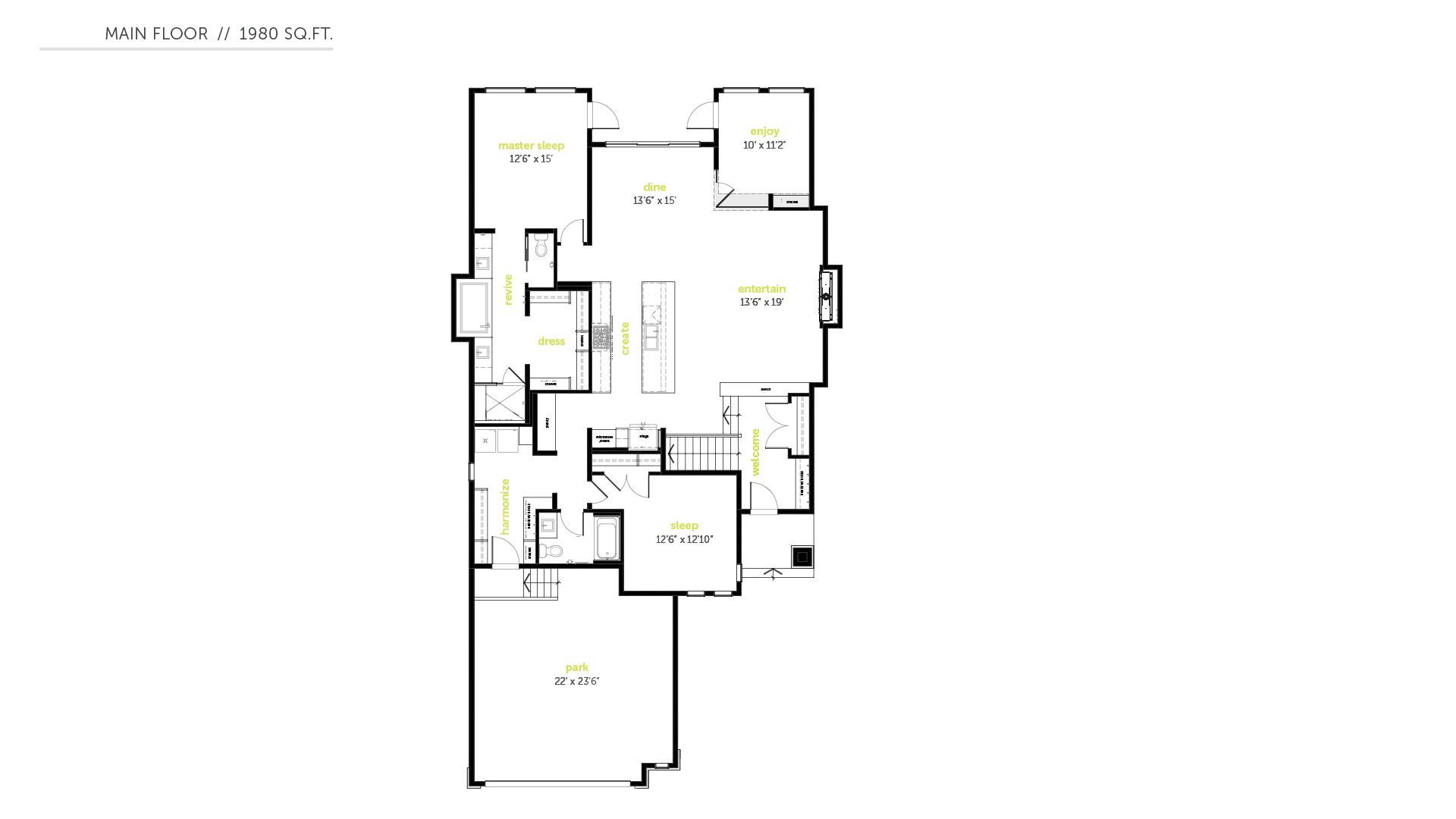 custom-infill-home-builder-in-edmonton-bungalow-floorplans-Alpha_FP